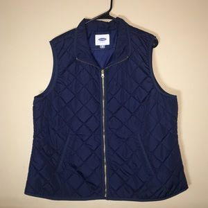 Old Navy | Quilted Vest | Navy
